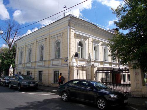 Усадьба Кильдюшевского в Архангельском переулке