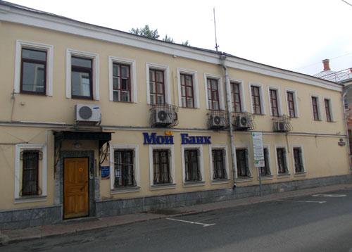 Флигель усадьбы Ласунских-Веневитовых в Кривоколенном