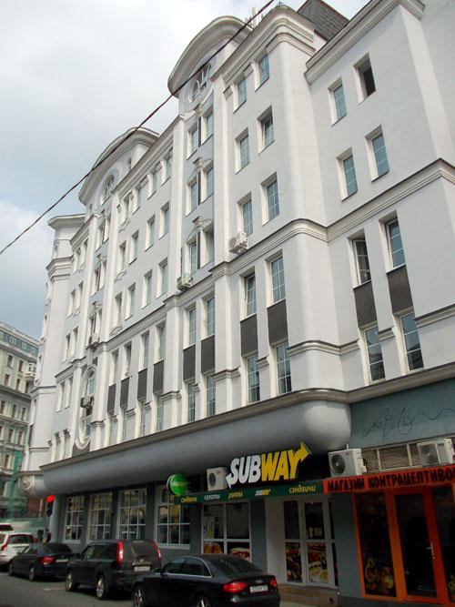Кривоколенный переулок, 1 в Москве