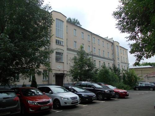 Кривоколенный переулок, 10 в Москве