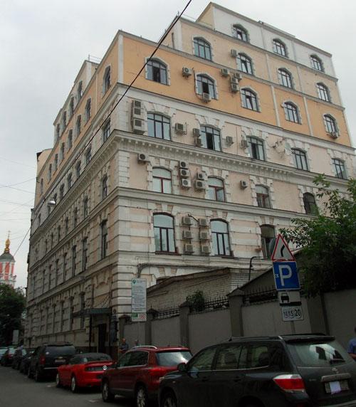 Кривоколенный переулок, 12 в Москве