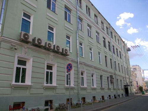 Сверчков переулок, дом 10 в Москве