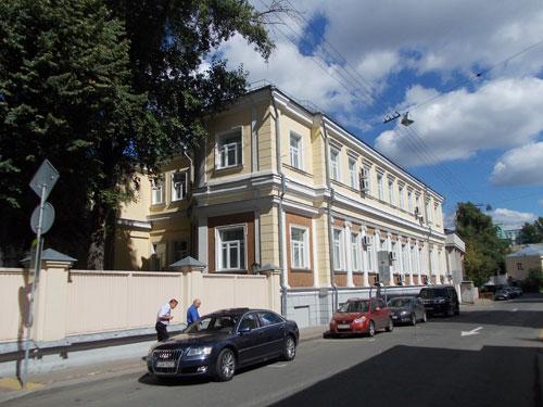 Сверчков переулок, дом 3 в Москве