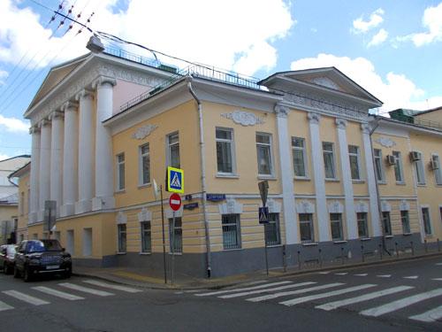 Сверчков переулок, дом 4 в Москве
