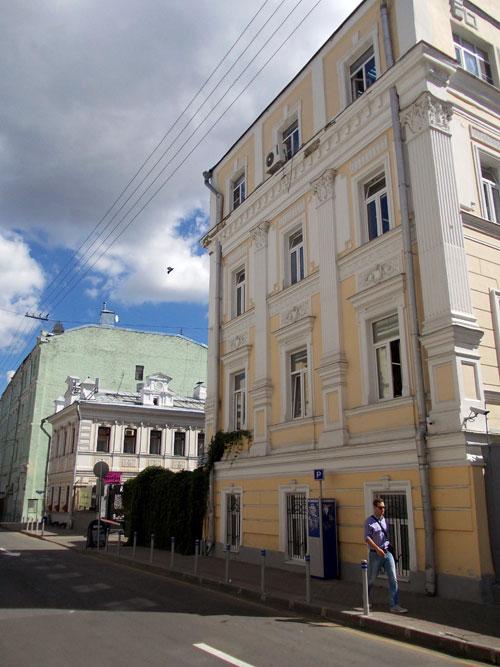 Сверчков переулок, дом 8 в Москве