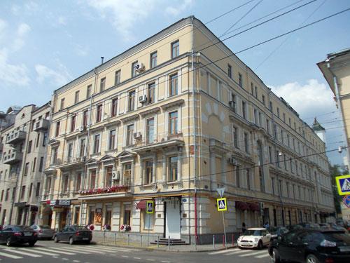 Улица Пречистенка, 24/Чистый переулок, 1 в Москве