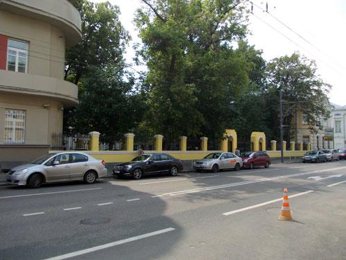Улица Пречистенка, 17 в Москве