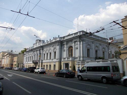 Улица Пречистенка, 20 в Москве