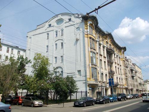 Улица Пречистенка, 28 в Москве