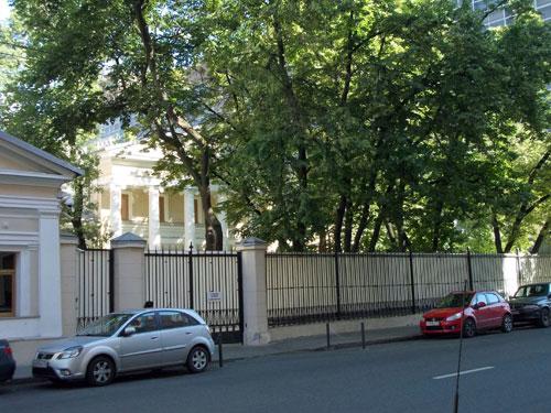 Усадьба купца Солдатенкова на Мясницкой улице