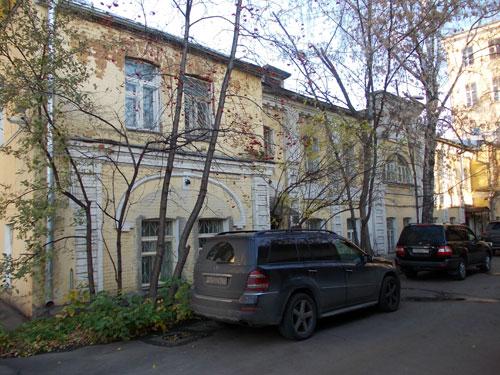 Первая градская (городская) гимназия на Волхонке