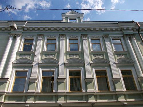 Дома Абрикосовой в Потаповском переулке