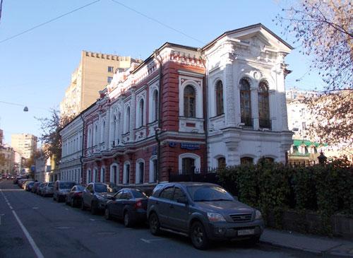 Гоголевский бульвар, 5/Гагаринский переулок, 2