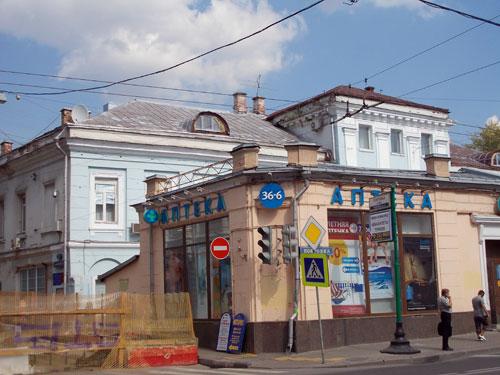 Городская усадьба Хитрово-Левашова в Армянском переулке