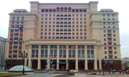 Гостиница Москва на Манежной