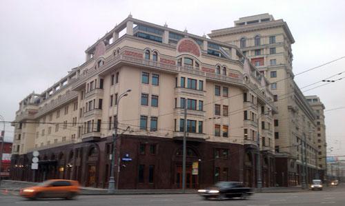 Гостиница со стороны Охотного ряда