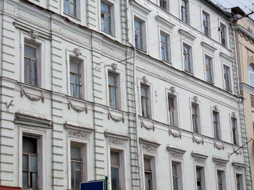 Леонтьевский переулок, дом 2 в городе Москве