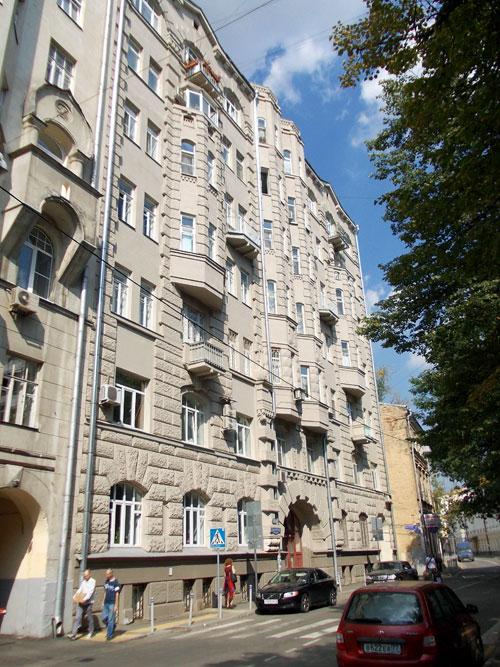 Потаповский переулок, дом 10 в Москве