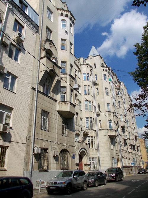 Потаповский переулок, дом 12 в Москве