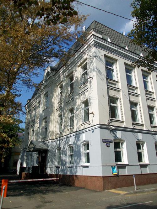 Потаповский переулок, дом 16, стр. 1 в Москве