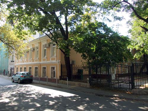 Потаповский переулок, дом 4 в Москве
