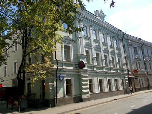 Потаповский переулок, дом 5, стр. 2 в Москве