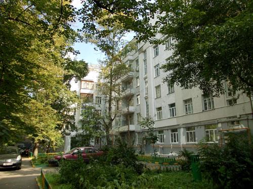 Потаповский переулок, дом 9 в Москве