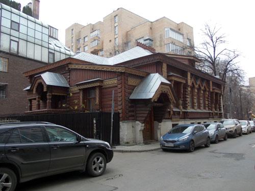 Староконюшенный переулок, дом 36 в Москве
