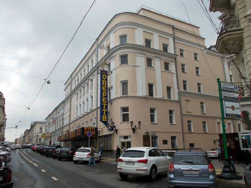 Театр Оперетты по улице Большая Дмитровка, 6