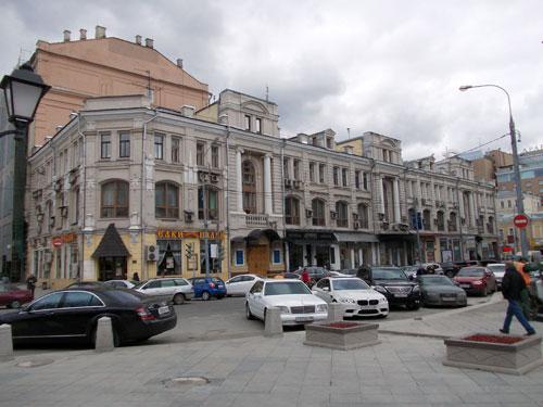 Бывшее здание Купеческого общества на Кузнецком Мосту, 10