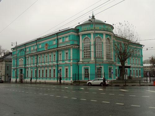 Улица Волхонка, дом 13 в Москве