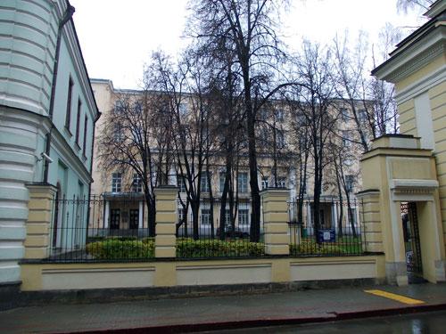 Улица Волхонка, дом 14/Малый Знаменский переулок, 1