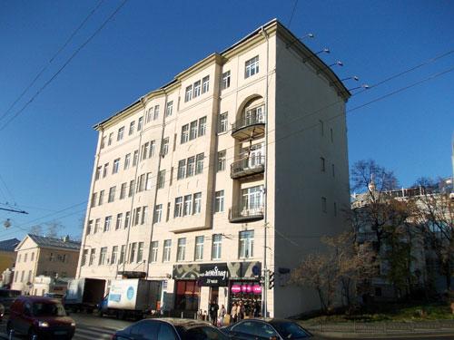 Улица Волхонка, дом 6 в Москве