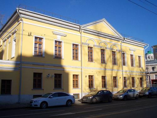Улица Волхонка, дом 8 Москва