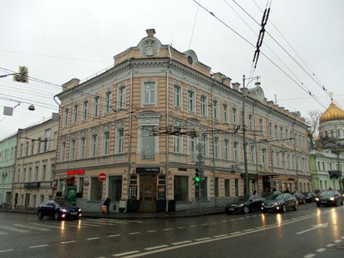 Улица Волхонка, дом 9 в Москве