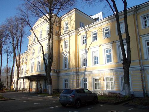 Усадьба Долгоруких-Румянцева-Задунайского на Волхонке