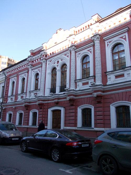 Городская усадьба Секретарева на Гоголевском бульваре