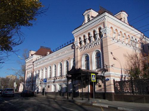 Усадьба Замятиных-Львовых-Третьяковых на Гоголевском бульваре