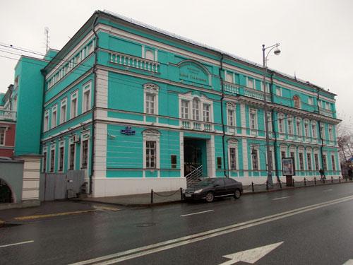 Здание художественной галереи Ильи Глазунова