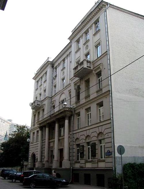 Большой Ржевский переулок, 11 в Москве