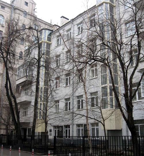 Брюсов переулок, 12 - Кооперативный дом артистов
