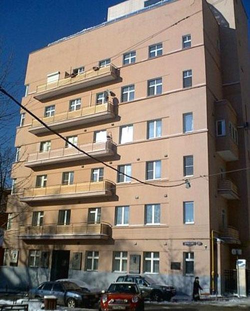 Брюсов переулок, 17 в Москве - Кооперативный дом МХАТа