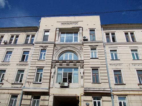 Бывший доходный дом Бабушкина и Титова на Покровке