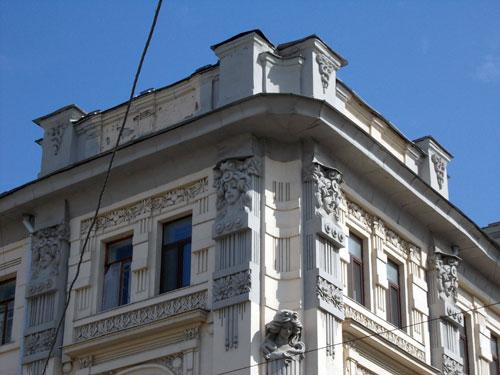 Доходный дом Рахманова на улице Покровка