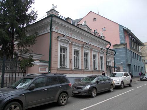 Дом архитектора Фалеева в Гагаринском переулке
