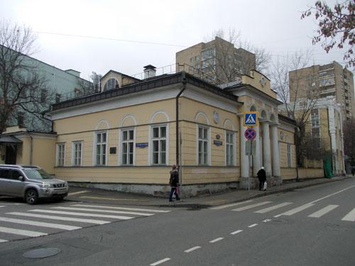 Гагаринский переулок, дом 15 в Москве