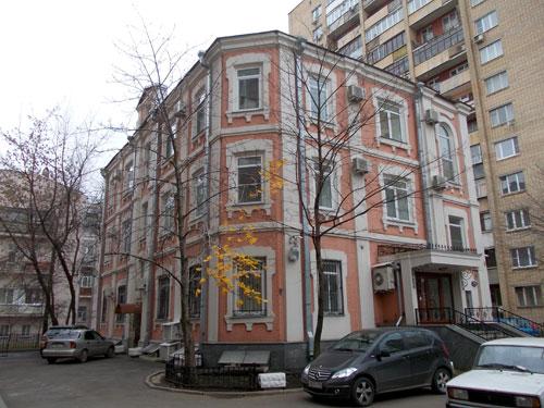 Гагаринский переулок, дом 29 в Москве