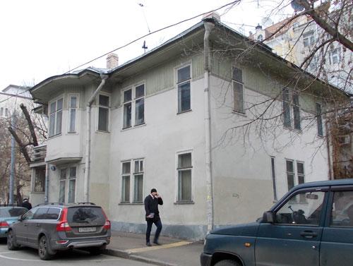 Гагаринский переулок, дом 8А в Москве
