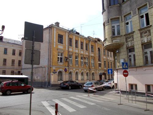 Гусятников переулок, дом 4 в Москве