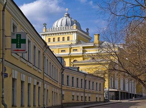 Большой Спасоглинищевский переулок, 10 - Хоральная синагога в Москве